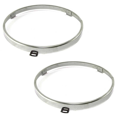 Trim Ring Set, Headlight Retaining, 1968-74 AMC AMX, Javelin, Javelin AMX