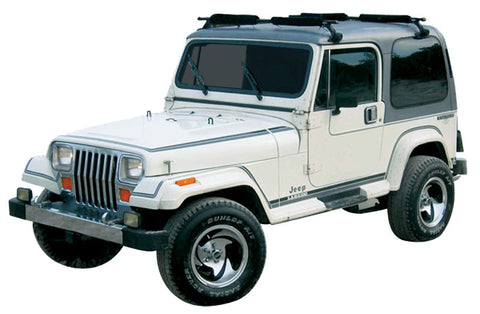 1987-1990 AMC Jeep Laredo Decal Stripe Kit (2 Colors)