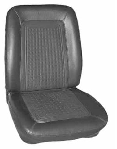 1968 AMC Javelin Legendary Auto Interiors Rear Bench Seat Covers (3 Colors)