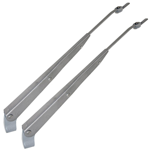 Wiper Arm Set, Stainless Steel, 1960-1988 AMC & Rambler - Adapters Required For Some Models (Sold Separately), See Application Guide)