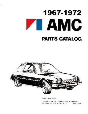 1967-1972 AMC Parts & Accessories Interchange Catalog