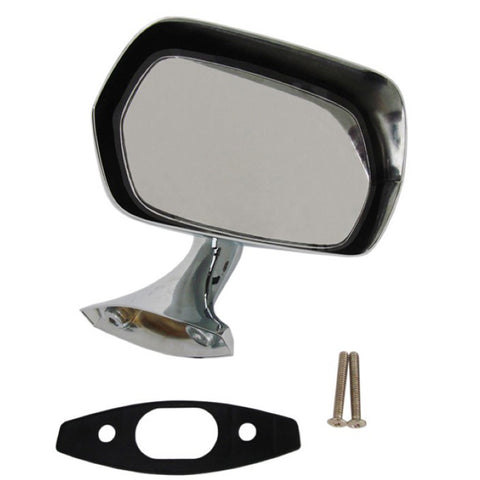 Rear View Mirror Kit, Chrome, Right Side, 1970-74 AMC