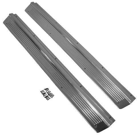 Door Sill Plate Set, AMC 1967-70 Rebel (2-Door), 1967-73 Ambassador (2-Door) - AMC Lives