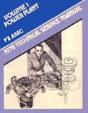Technical Service Manual, Factory Authorized Reproduction, 1978 AMC