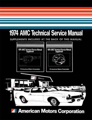 1974 AMC Technical Service Manual