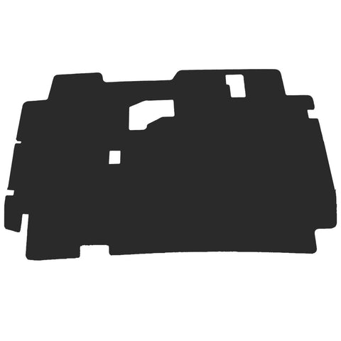 1987-95 Jeep YJ Wrangler Hood Insulation Pad & Clips