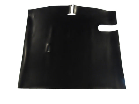 1961-1963 AMC Rambler American Convertible Black Rubber Trunk Mat