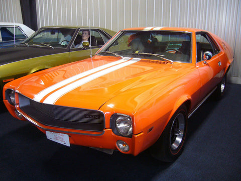 Decal and Stripe Kit, Go Package, Factory Authorized Reproduction, 1968-69 AMC AMX (5 Colors)