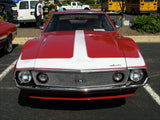 1971-1974 AMC Javelin AMX Solid Color Hood Stripe & Decal Kit (4 Colors)