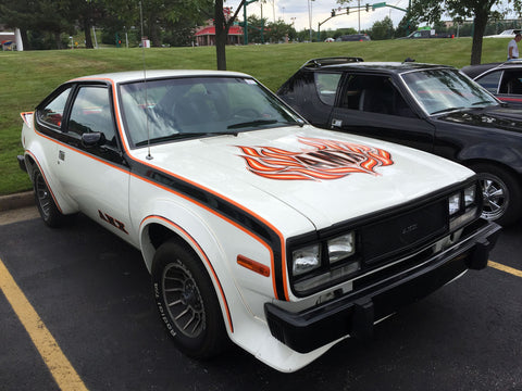 Decal and Stripe Kit, Factory Authorized Reproduction, 1979-80 AMC Spirit AMX (2 Color, 2 Color Choices) - AMC Lives