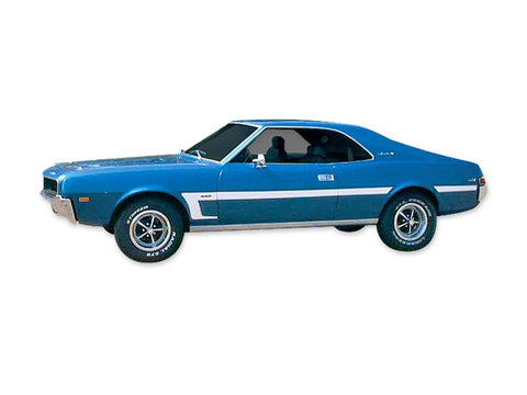 1969 AMC Javelin Mod-C Stripe & Decal Kit (4 Colors)