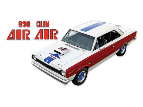 1969 AMC Hurst S/C Rambler Scrambler A Scheme Decals & Stripes Kit - Blue / Red / Black