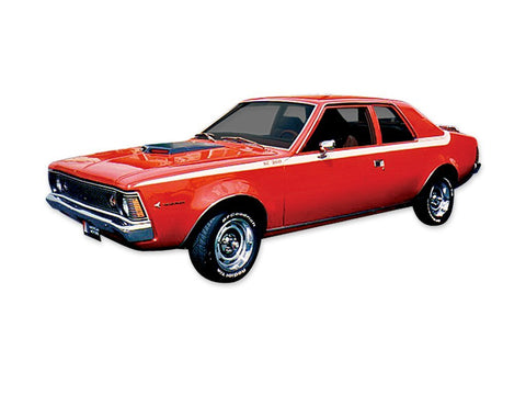 1971 AMC Hornet SC 360 Stripe & Decal Kit (3 Colors)