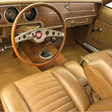 Seat Cover Set, Bucket, Leather Style, 1970-71 AMC AMX, Javelin, Javelin SST, Javelin AMX (5 Colors, 2 Grains)