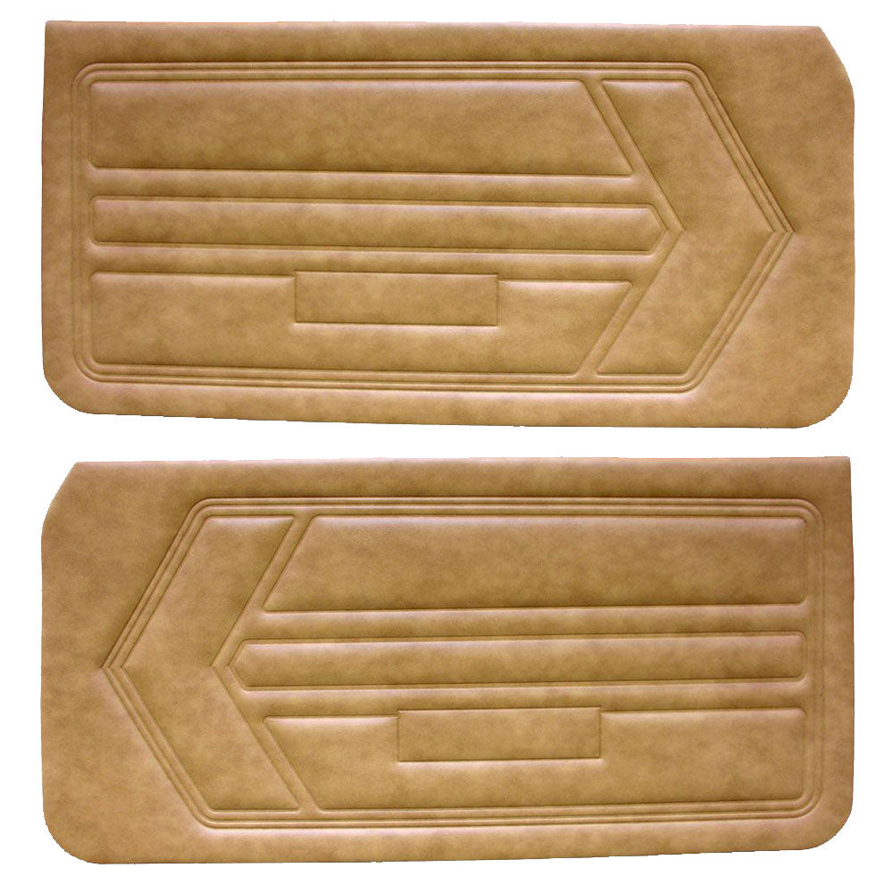Door Panel Set Unassembled 1968 Amc Amx Javelin 4 Colors American Performance Products Inc