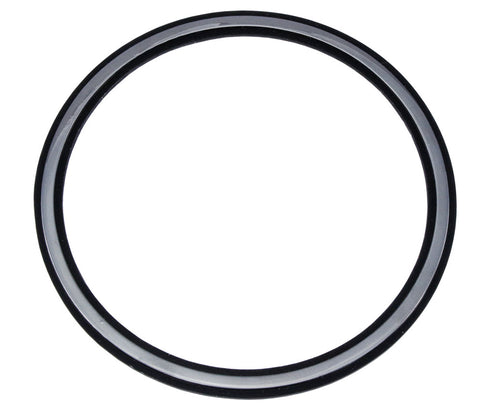1968-1969 AMC AMX Quarter Panel Circle Black & Silver Emblem - (2 Required)