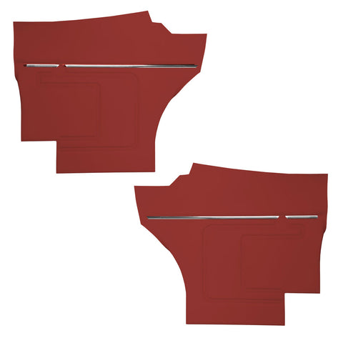 Rear Interior Panel Set, Unassembled, 1969 AMC Javelin (5 Colors)