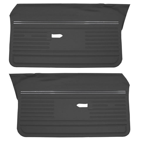 Door Panel Set, Unassembled, 1970 AMC Rebel, Rebel Machine (4 Colors)