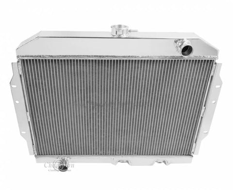 4-Row Aluminum Radiator for 1958-88 AMC/Rambler, Not OE Fit, Lifetime Warranty