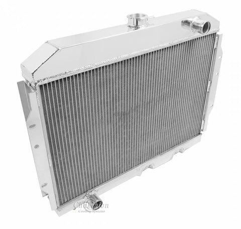 1958-1988 AMC Champion 4-Row Aluminum Radiator - Cools up to 1,200HP
