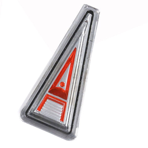 Hood Emblem, Red, 1966-68 Rambler American (1 Required)