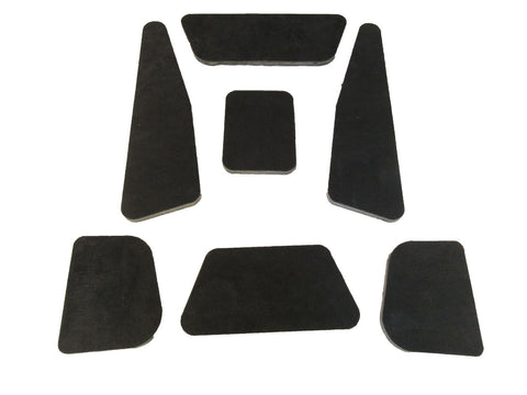 1965-66 AMC Marlin Hood Insulation Pad & Clips