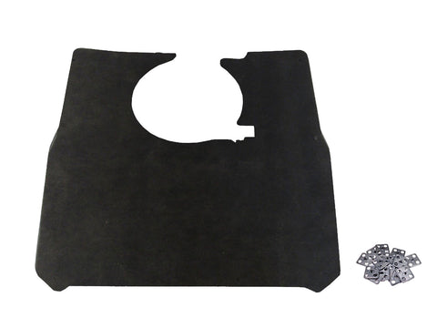 1970 AMC Javelin, AMX Hood Insulation Pad & Clips (w/Ram Air Hood)