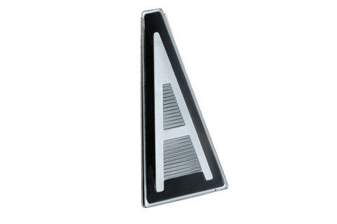 1964-1965 Rambler American Black & Silver Hood Emblem (1 Required)