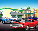 "Fine Art Print, AMC Special Edition 16""x20"", By Danny Whitfield - Quaker Steak & Lube"