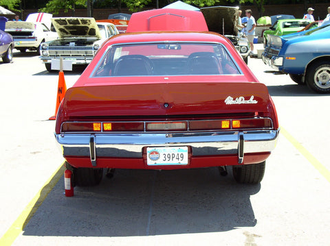 1970 AMC Javelin Fiberglass Mark Donahue Rear Spoiler