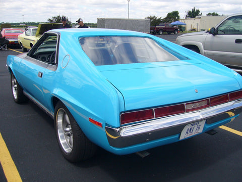 Fiberglass Quarter Panel Extension, Left Rear, 1970 AMC AMX