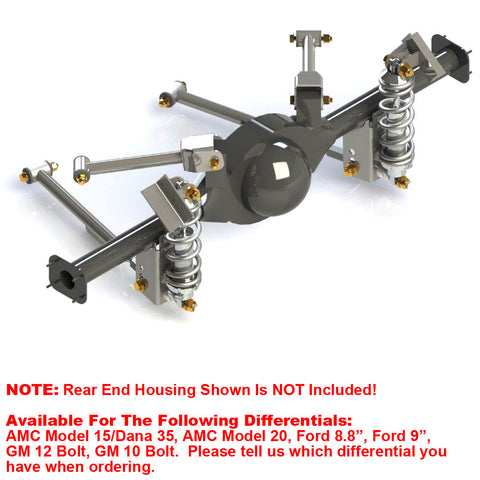 Rear 4-Link Coil-Over Suspension System, 1970-72 AMC Ambassador - AMC Lives