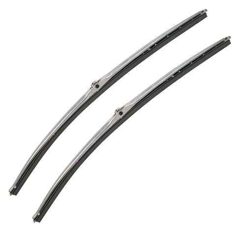 Wiper Blade Set, Silver, 1960-1988 AMC & Rambler - AMC Lives