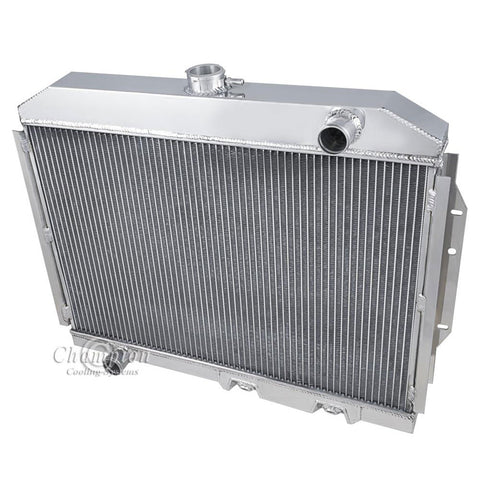 Radiator, Aluminum 3-Row, Not OE Style Fit, 1970-78 Gremlin, 1970-77 AMC Hornet