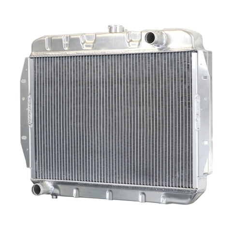 2-Row Aluminum Desert Cooler Radiator w/3-Row Capacity for 1968-74 AMC Javelin/AMX V-8, OE Style Fit