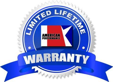 1968-69 AMC Javelin/AMX Front Heavy Duty Shock Absorber Set - Lifetime Warranty