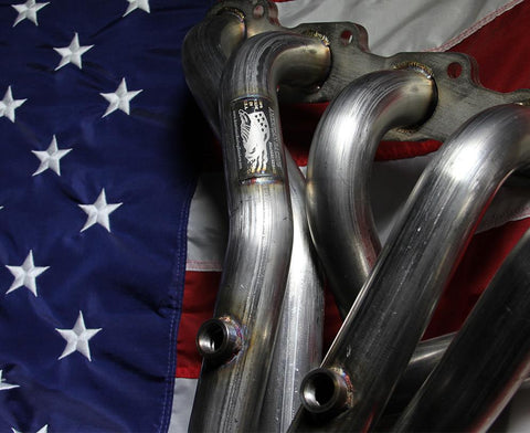 1964-1988 AMC V-8 Small Body American Racing Headers Full-Length Rectangular Port Stainless Headers