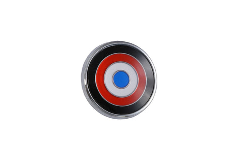 "1973-74 AMC Javelin/Javelin AMX 2.25"" x 2.25"" Bullseye Trunk Emblem (1 Required)"