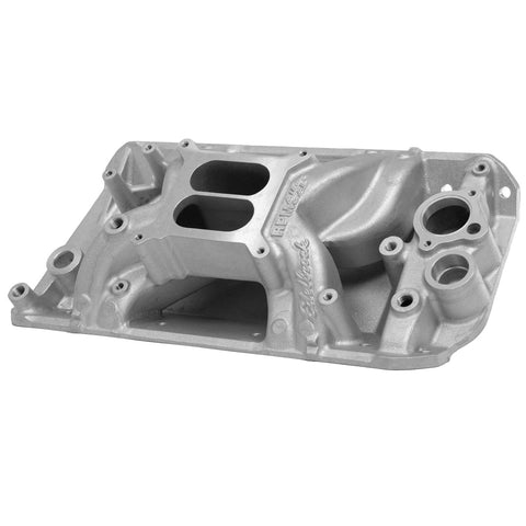Intake Manifold, Edelbrock RPM Air Gap,  Satin, 1966-69 AMC, Jeep V8 - AMC Lives