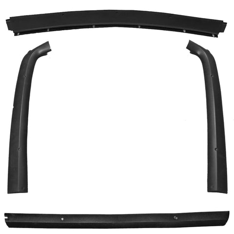 Fiberglass Rear Window Molding Kit, 4-Piece, 1968-70 AMC AMX