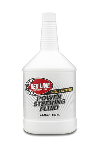 Red Line Synthetic Power Steering Fluid - 1 Quart Bottle