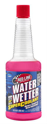 Cooling System Additive, Red Line Water Wetter, 12 Oz. Bottle (1 Bottle Required)