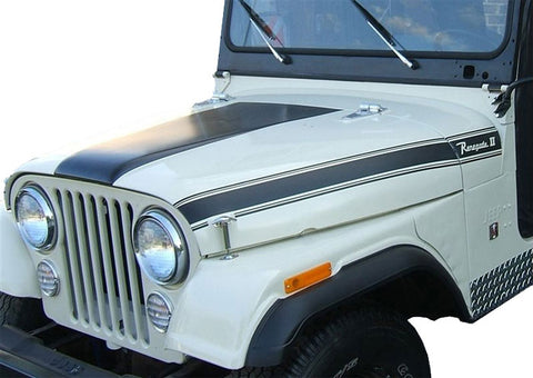 Decal and Stripe Kit, Factory Authorized Reproduction, 1971 AMC Jeep Renegade II (1 Color Choice)