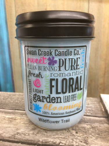 Swan Creek Candle Co Wildflower Trail Candle 12 oz