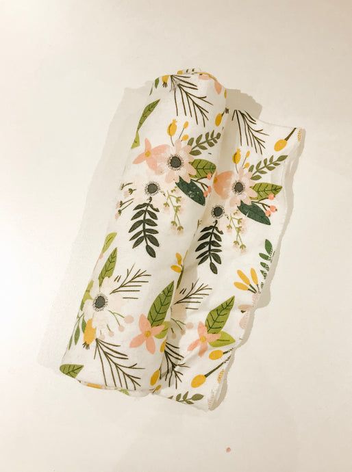 Organic Cotton Swaddle Blankets - Clearance Sale