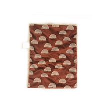 Load image into Gallery viewer, Cinnamon Rainbows Minky Blanket - Small Lovey Size