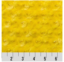 Load image into Gallery viewer, Yellow Construction Trucks Minky Blanket - CUSTOM Blanket Size