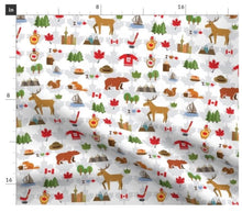 Load image into Gallery viewer, I Love Canada Minky Blanket - Baby Blanket Size