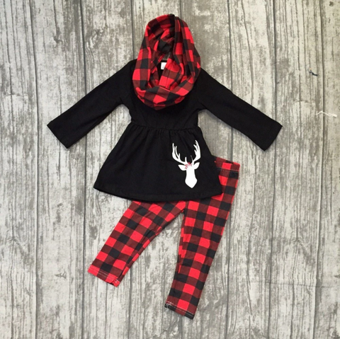 Buffalo Buck Girls 3PC Set