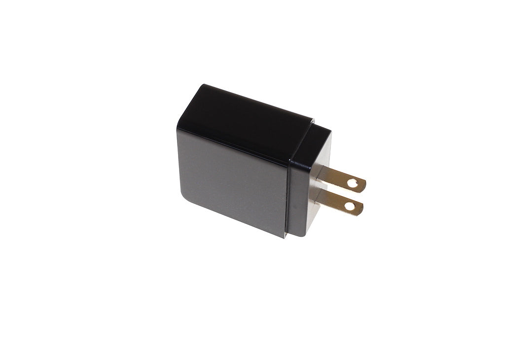 Chargeur mural USB / Quick charge 3.0 Qualcomm / 3A / Noir